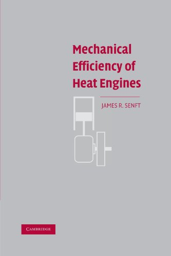 9780521169288: Mechanical Efficiency of Heat Engines
