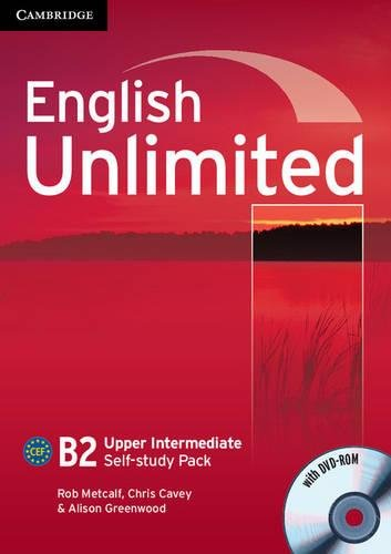 9780521169714: English Unlimited Upper Intermediate Self-study Pack (Workbook with DVD-ROM)