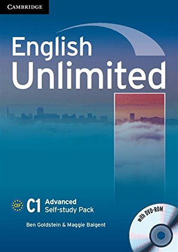 9780521169738: English Unlimited Advanced Self-study Pack (Workbook with DVD-ROM)
