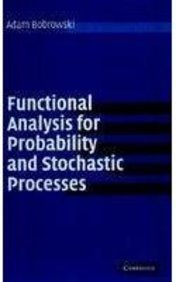 9780521169912: Functional Analysis for Probability and Stochastic Processes ICM edition: An Introduction