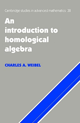 9780521169981: An Introduction to Homological Algebra ICM Edition (Cambridge Studies in Advanced Mathematics)