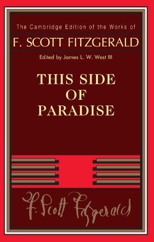 9780521170475: This Side of Paradise