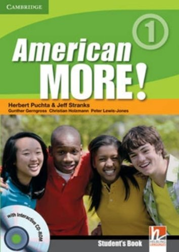 9780521171090: American More! Level 1 Student's Book with CD-ROM