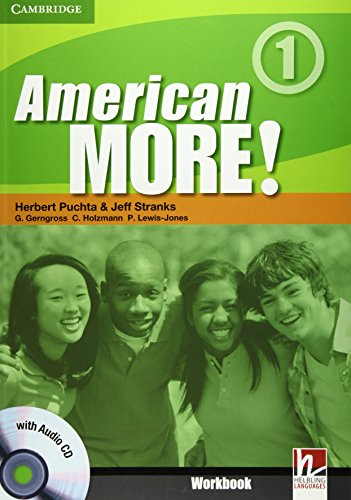 9780521171144: American More!  1 Workbook with Audio CD