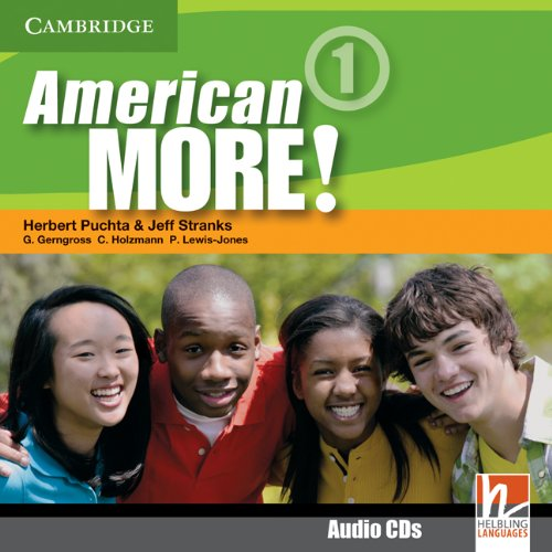 9780521171212: American More! Level 1 Class Audio CDs (2)