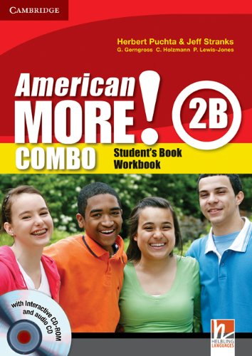 9780521171243: American More! Level 2 Combo B with Audio CD and CD-ROM