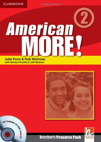9780521171274: American More! 2 Teacher's Resource Pack with Testbuilder CD-ROM/Audio CD - 9780521171274