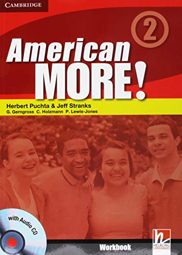American More! Level 2 Workbook with Audio: Herbert Puchta; Jeff