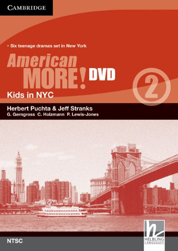 9780521171359: American More! Level 2 DVD (NTSC): Kids in NYC