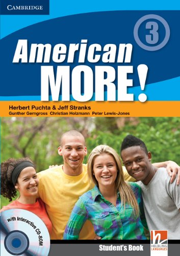 American More! Level 3 Student's Book with: Herbert Puchta; Jeff