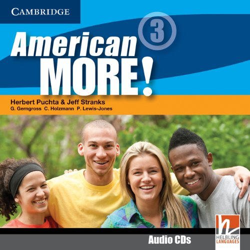 9780521171502: American More! Level 3 Class Audio CDs (2)