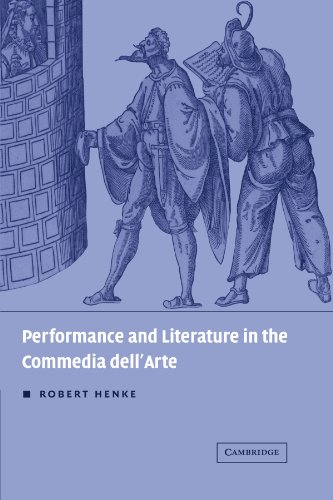 9780521172387: Performance and Literature in the Commedia dell'Arte