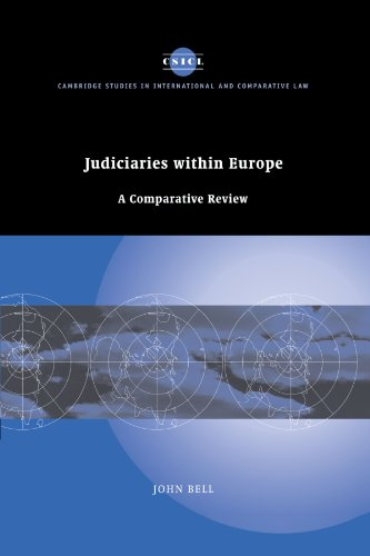 9780521172851: Judiciaries within Europe: A Comparative Review (Cambridge Studies in International and Comparative Law)
