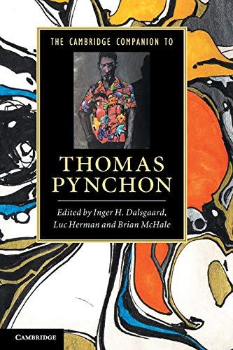 9780521173049: The Cambridge Companion to Thomas Pynchon (Cambridge Companions to Literature)