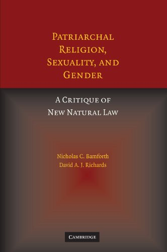 9780521173360: Patriarchal Religion, Sexuality, and Gender: A Critique of New Natural Law