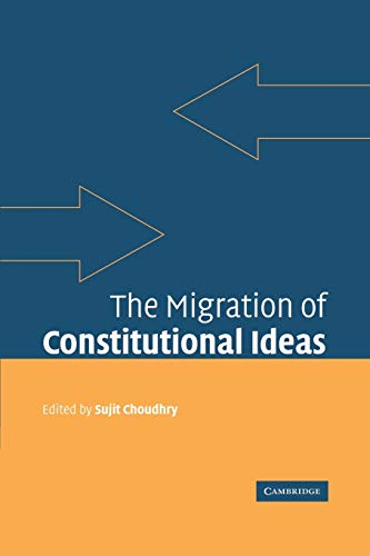 9780521173476: The Migration of Constitutional Ideas
