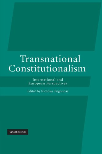 9780521173483: Transnational Constitutionalism: International and European Perspectives