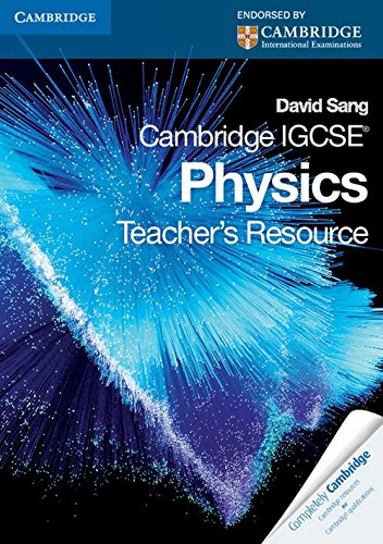 9780521173599: Cambridge IGCSE Physics Teacher's Resource CD-ROM (Cambridge International IGCSE)