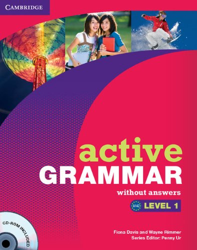 9780521173681: Active Grammar 1 without Answers and CD-ROM (Active Grammar Without Answers)