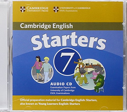 9780521173704: Cambridge Young Learners English Tests 7 Starters Audio CD