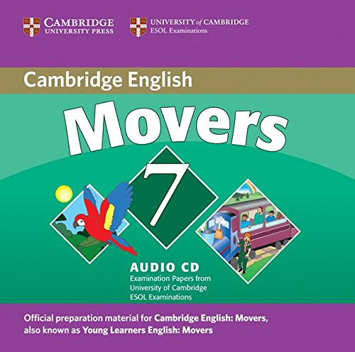9780521173735: Cambridge Young Learners English Tests 7 Movers Audio CD