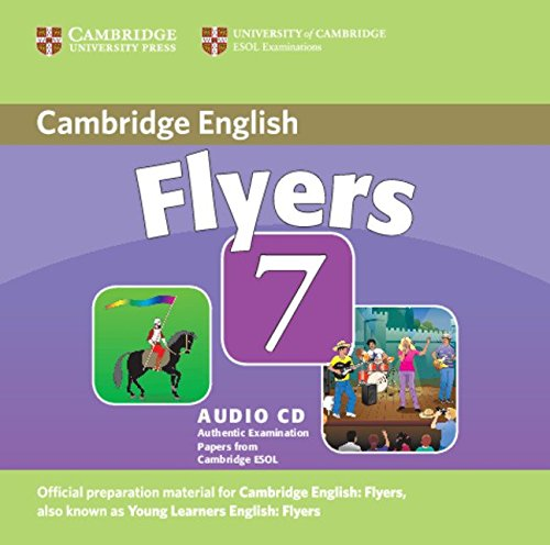 9780521173773: Cambridge Young Learners English Tests 7 Flyers Audio CD