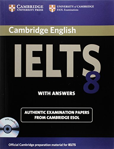 9780521173803: Cambridge IELTS 8 Self-study Pack (Student's Book with Answers and Audio CDs (2)): Official Examination Papers from University of Cambridge ESOL Examinations (IELTS Practice Tests)