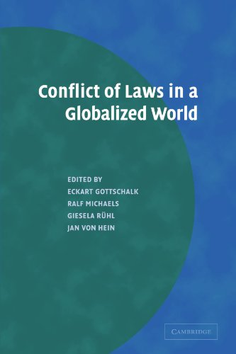 Conflict of Laws in a Globalized World: Jan von Hein