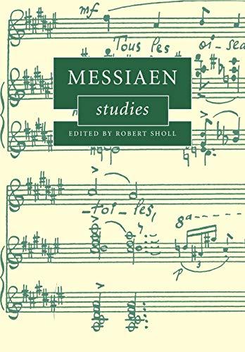 9780521174534: Messiaen Studies (Cambridge Composer Studies)