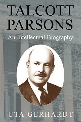 9780521174589: Talcott Parsons Paperback