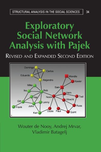 9780521174800: Exploratory Social Network Analysis with Pajek (Structural Analysis in the Social Sciences)
