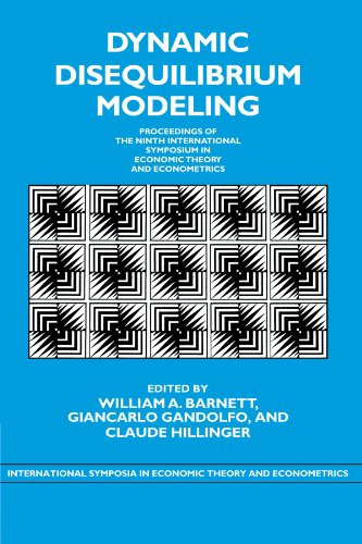 9780521174978: Dynamic Disequilibrium Modeling: Theory and Applications Paperback (International Symposia in Economic Theory and Econometrics)