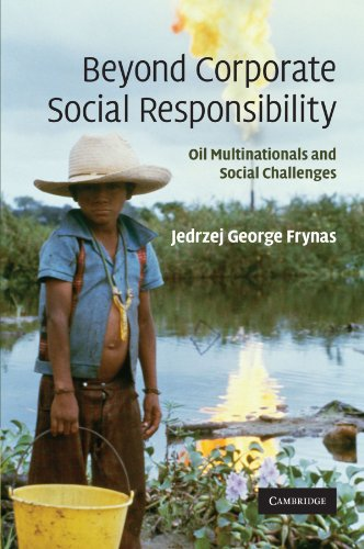 9780521175395: Beyond Corporate Social Responsibility: Oil Multinationals and Social Challenges