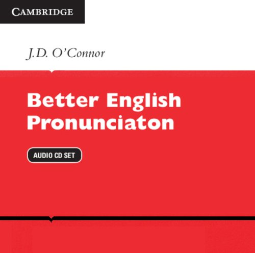 9780521175500: Better English Pronunciation Audio CDs (2)