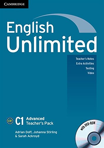 9780521175593: English Unlimited Advanced Teacher's Pack (Teacher's Book with DVD-ROM)