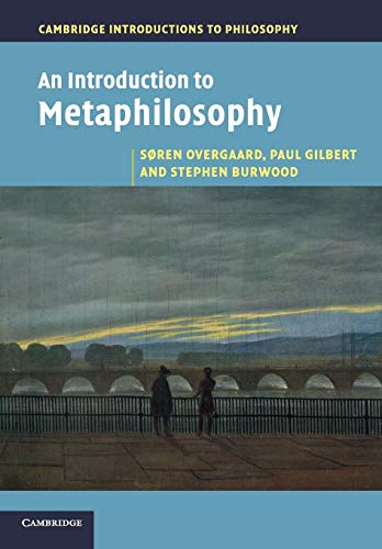 9780521175982: An Introduction to Metaphilosophy