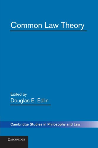 9780521176156: Common Law Theory (Cambridge Studies in Philosophy and Law)