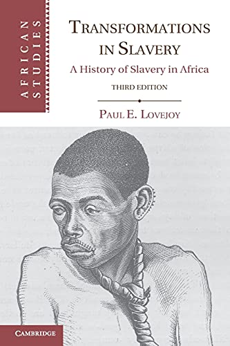 9780521176187: Transformations in Slavery: A History of Slavery in Africa
