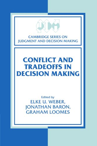 9780521176323: Conflict and Tradeoffs in Decision Making (Cambridge Series on Judgment and Decision Making)