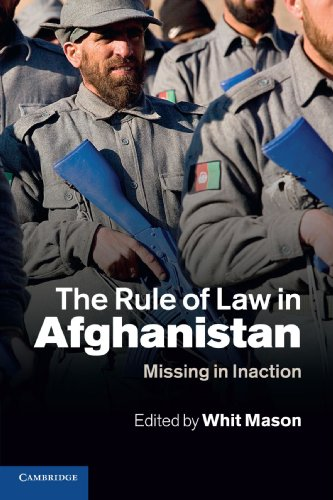 Rule of Law in Afghanistan (Paperback): Whit Mason