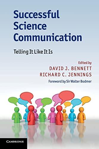 9780521176781: Successful Science Communication: Telling It Like It Is