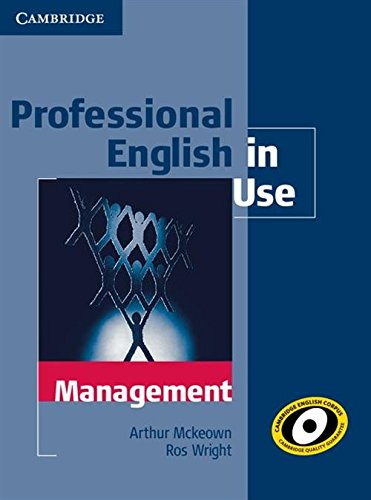 9780521176859: Professional English in Use Management with Answers