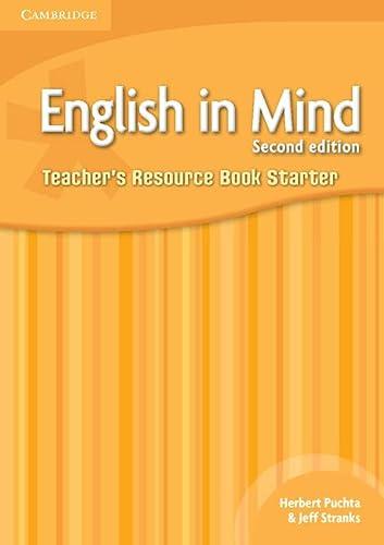 9780521176897: English in Mind Starter Level Teacher's Resource Book