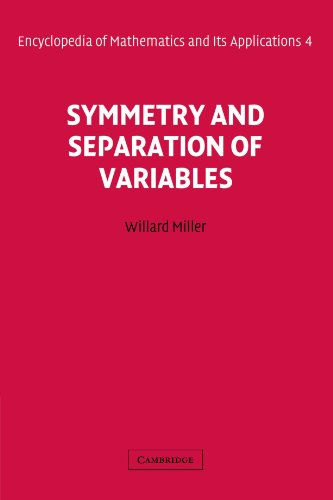 9780521177399: Symmetry and Separation of Variables Paperback (Encyclopedia of Mathematics and its Applications)