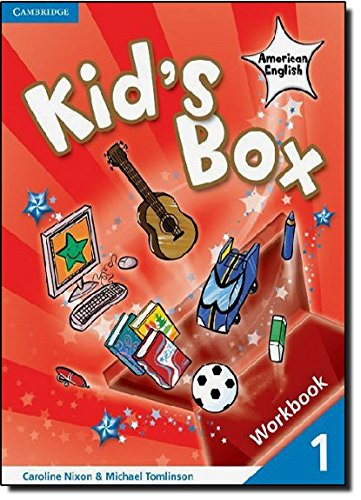 9780521177634: Kid's Box American English Level 1 Workbook with CD-ROM