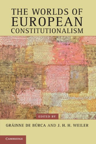 9780521177757: The Worlds of European Constitutionalism (Contemporary European Politics)