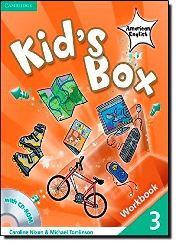 9780521177887: Kid's Box American English  3 Workbook with CD-ROM