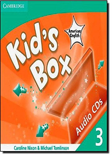 9780521177917: Kid's Box American English Level 3 Audio CDs (3)