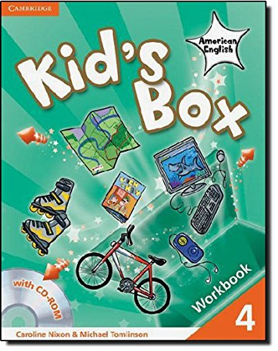9780521177955: Kid's Box American English Level 4 Workbook with CD-ROM