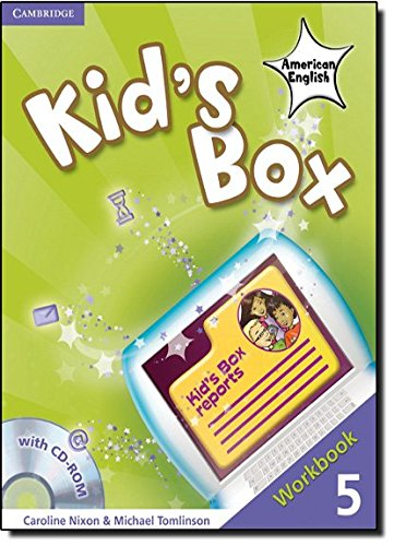 9780521178051: Kid's Box American English  5 Workbook with CD-ROM